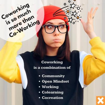 Coworking ist more than Co-Working